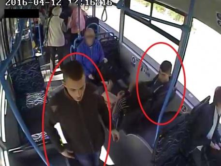 A BKK felvétele az elkövetőkről (forrás: police.hu)